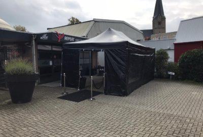 Tent voor buitentraining
